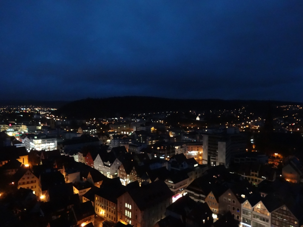 Heidenheim at dusk