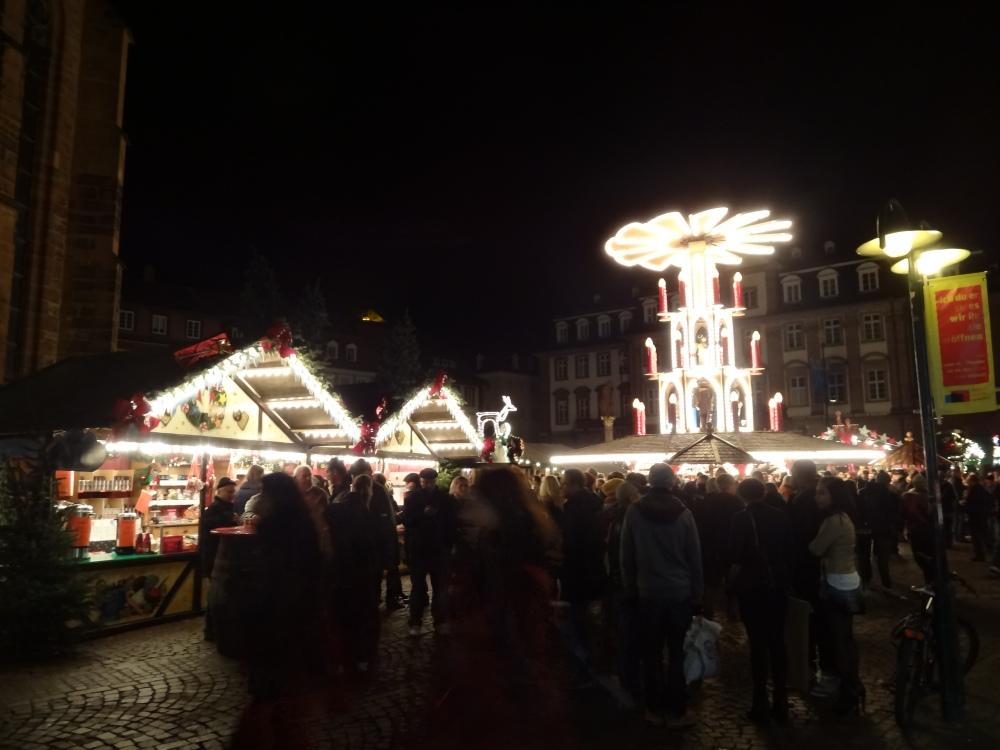 Heidelberger Weihnachtsmarkt - Marktplatz