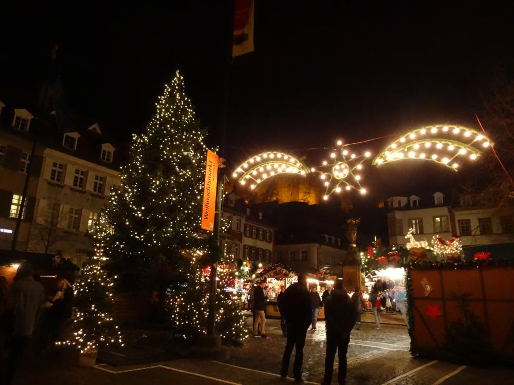 Heidelberger Weihnachtsmarkt – Kornmarkt
