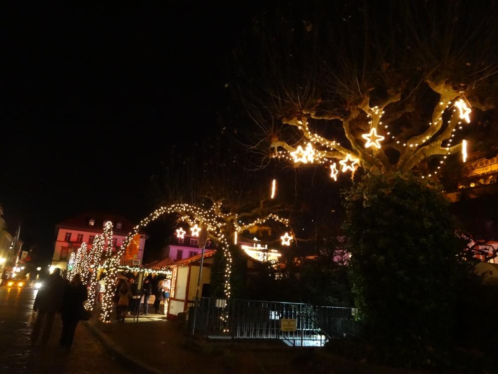 Heidelberger Weihnachtsmarkt - Karlsplatz