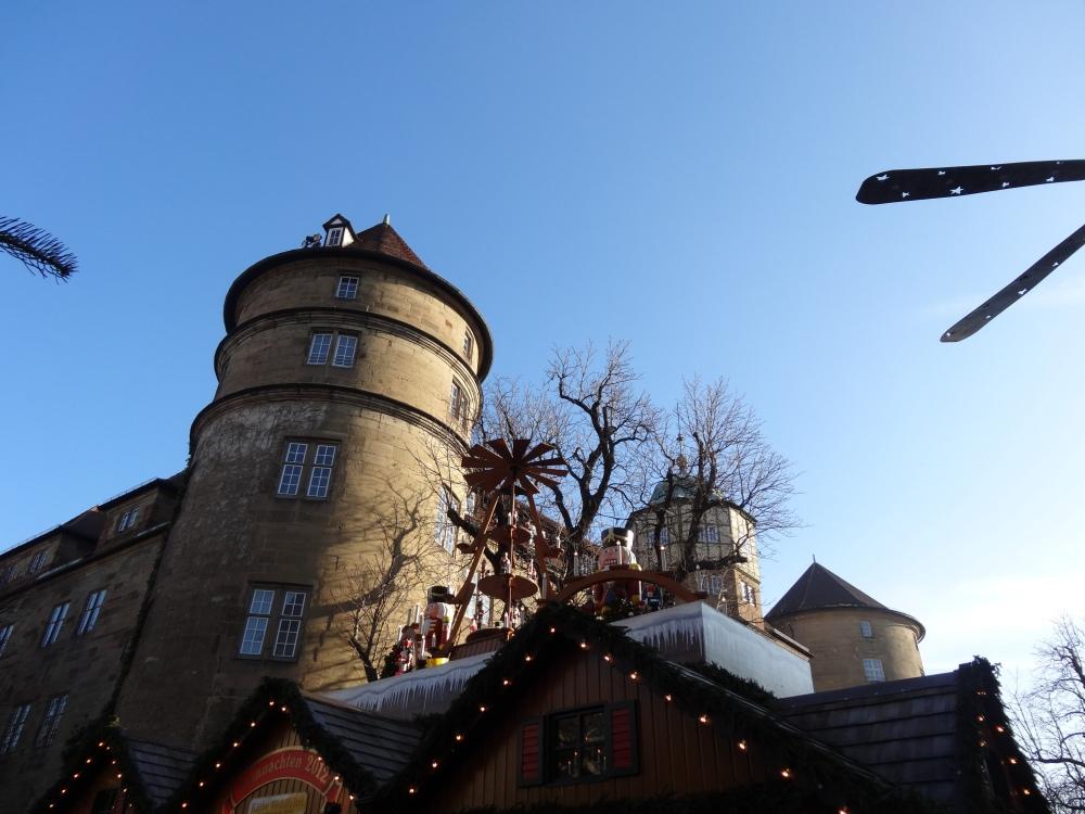 Stuttgart Altes Schloss and Weihnachtsmarkt