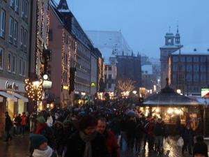 Christkindlesmarkt on the main market square