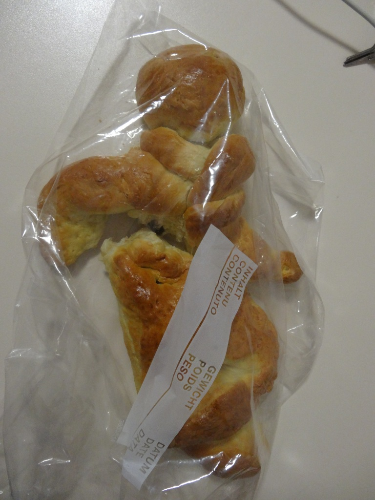 Grittibänz – a special Swiss breadman baked on St. Nikolaus' Day