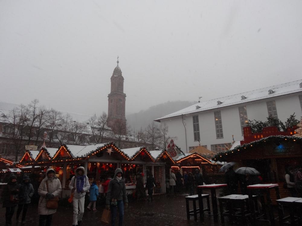 Heidelberger Weihnachtsmarkt - Universitätplatz