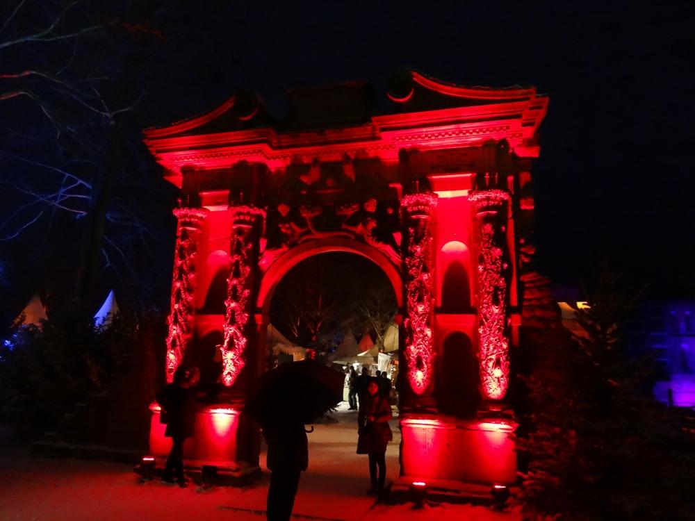 Elizabeth's Gate at the castle garden