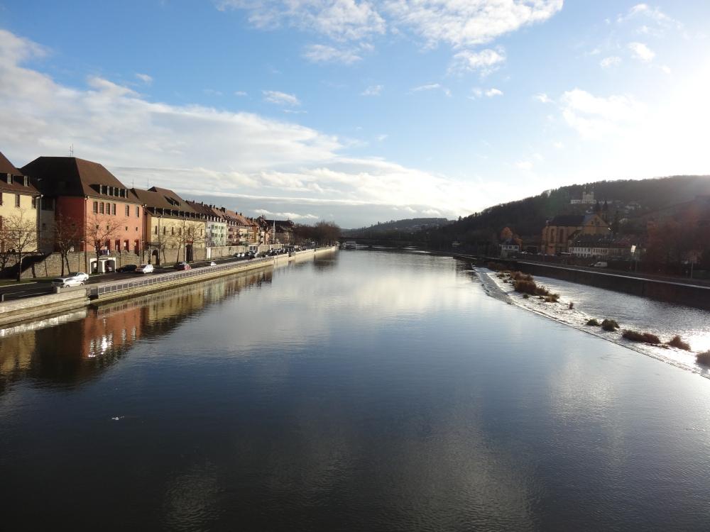 "The Neckar when it was ""normal""."