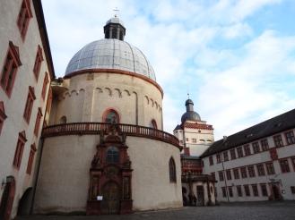Marienskirche (Festungskirche) inside the Fortress