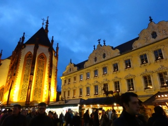 Weihnachtsmarkt (Christmas market) in Dec, 2012.