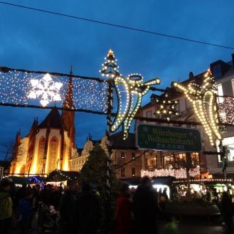 Weihnachtsmarkt (Christmas market), Würzburg in December, 2012