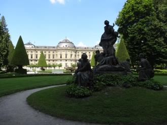 Würzburg Residenz and Hofgarten