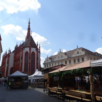 Marienkapelle and special market