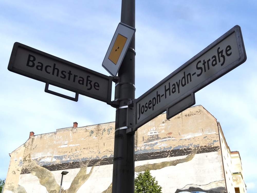 Bach or Haydn? Which way? Where is Mahlerstrasse? (If you didn't know yet, I'm a huge fan of Gustav Mahler!)
