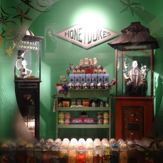 Honey Dukes – I got a box of Bertie Bott's Every Flavour Beans; it was really fun but some of the flavors are gross!