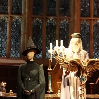 Dumbledore and McGonagall