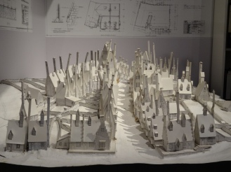 Paper model of Hogsmeade