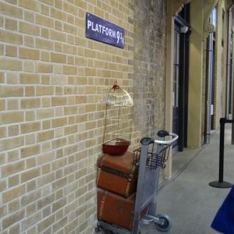 Platform 9 3/4 (King's Cross)