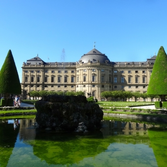 Residence Palace and Court Garden