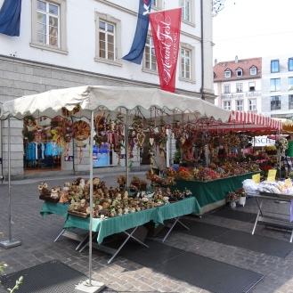 Booth selling Lebkuchen